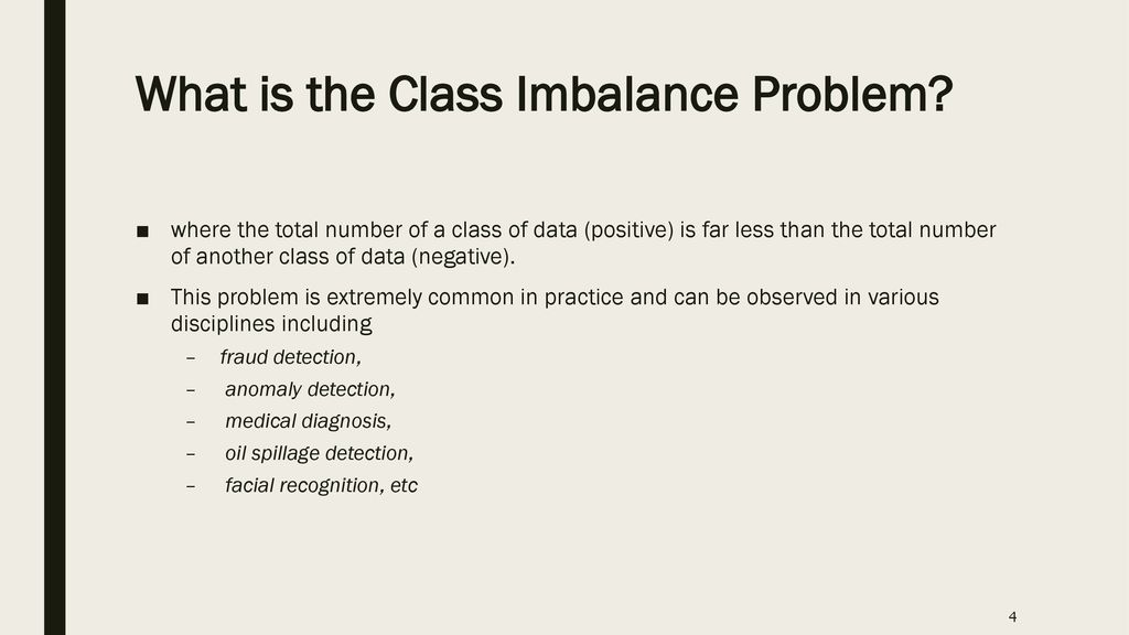 Classification of class-imbalanced data - ppt download