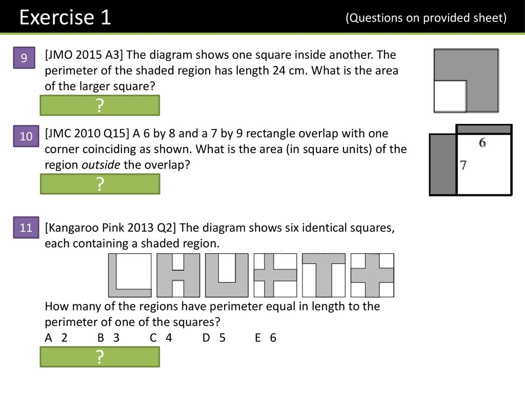 Year 7 Area & Perimeter Dr J Frost - ppt download
