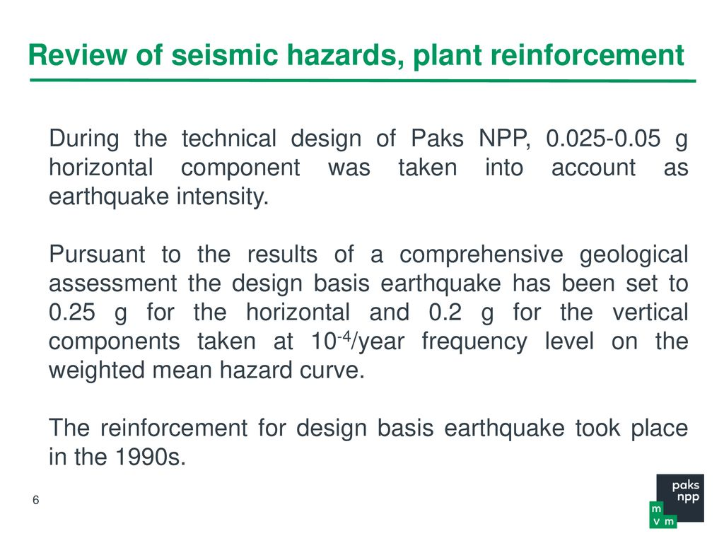 Severe accident management at Paks NPP - ppt download