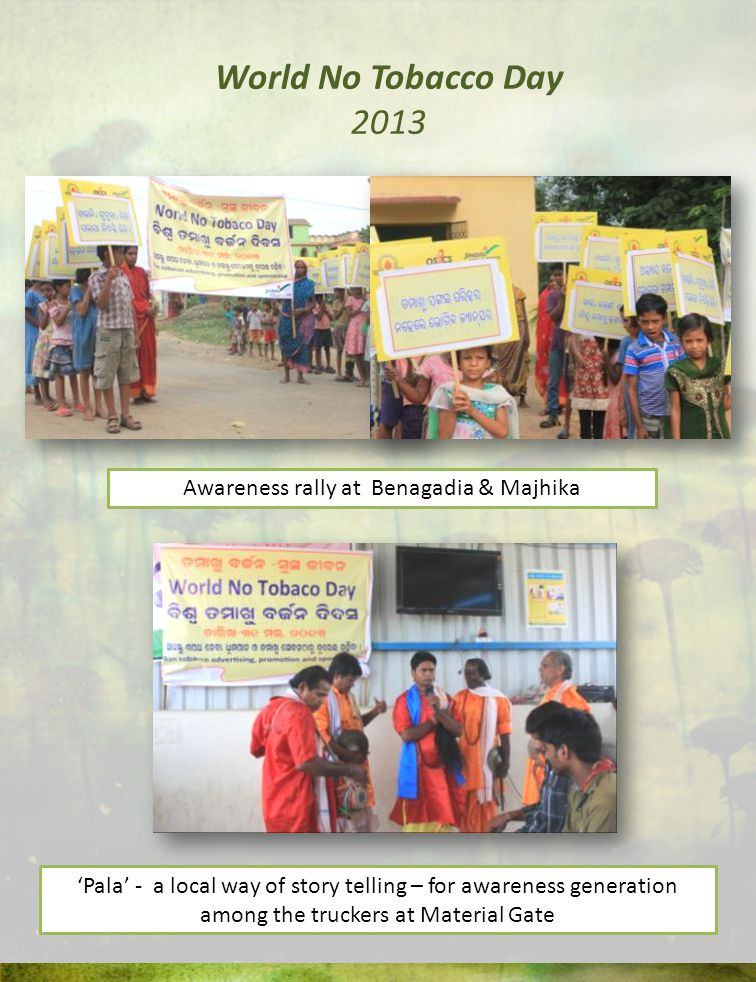 Awareness rally at Benagadia & Majhika