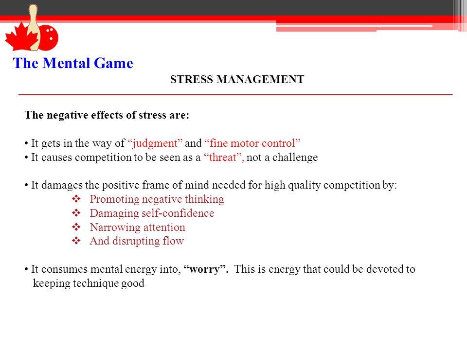 The Mental Game / Presentation - ppt download