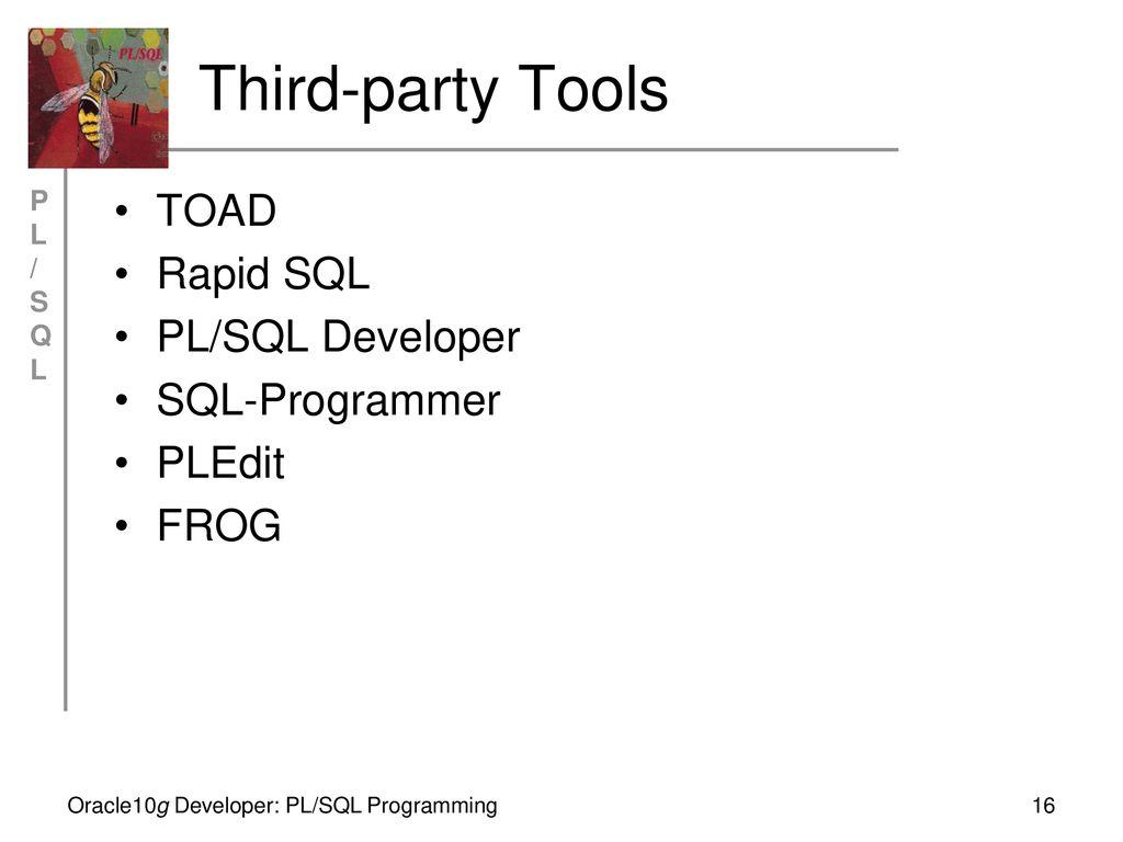 Chapter 1 Introduction to PL/SQL Oracle10g Developer: - ppt download