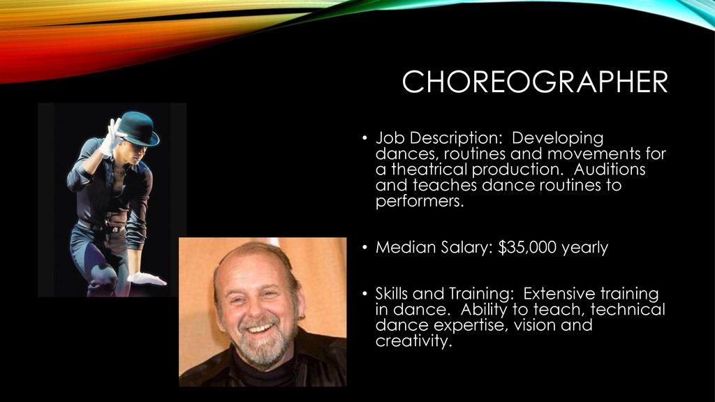 Theatre Professions Director Job Description A