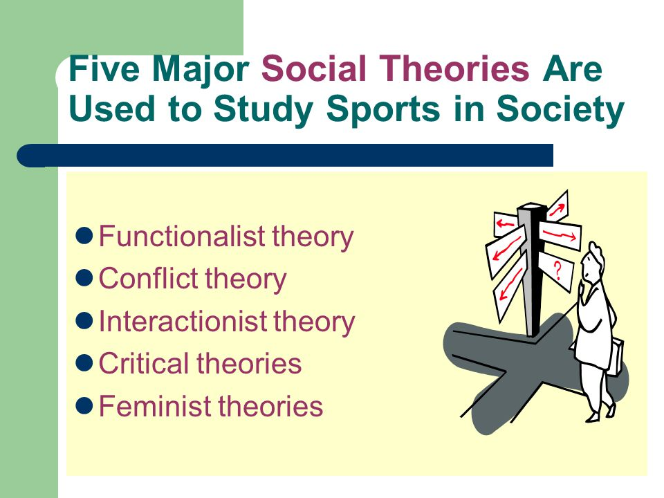 Five Major Social Theories Are Used to Study Sports in Society