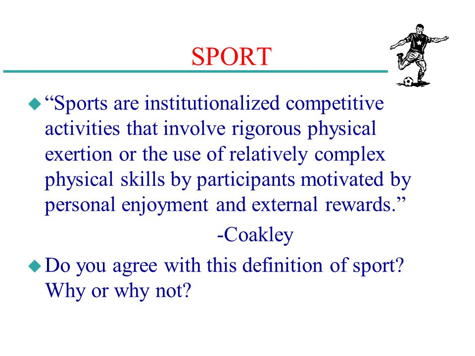 chapter 8 sociological foundations of physical education and sport