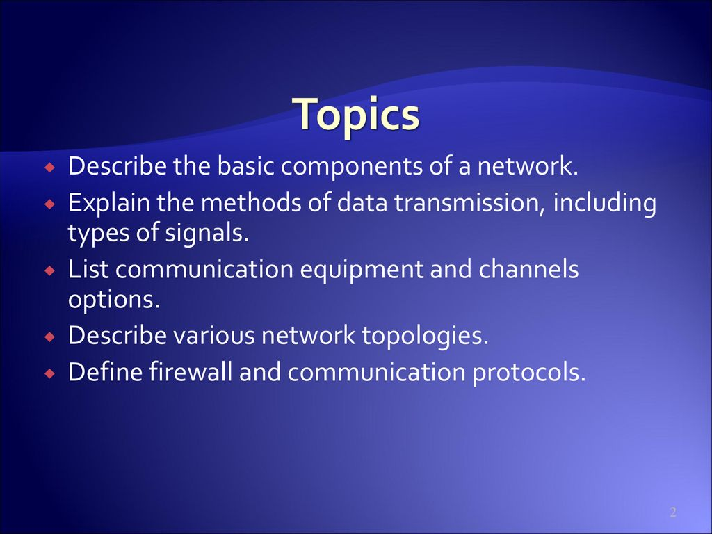 CIS105 Networking: Computer Connections - ppt download