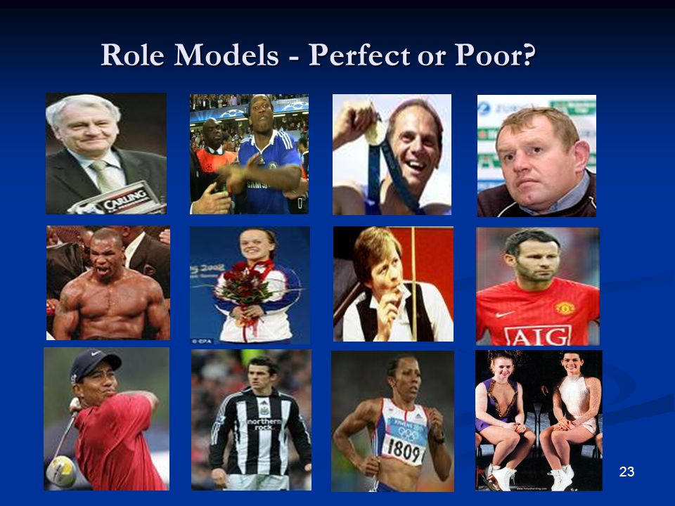 Role Models - Perfect or Poor