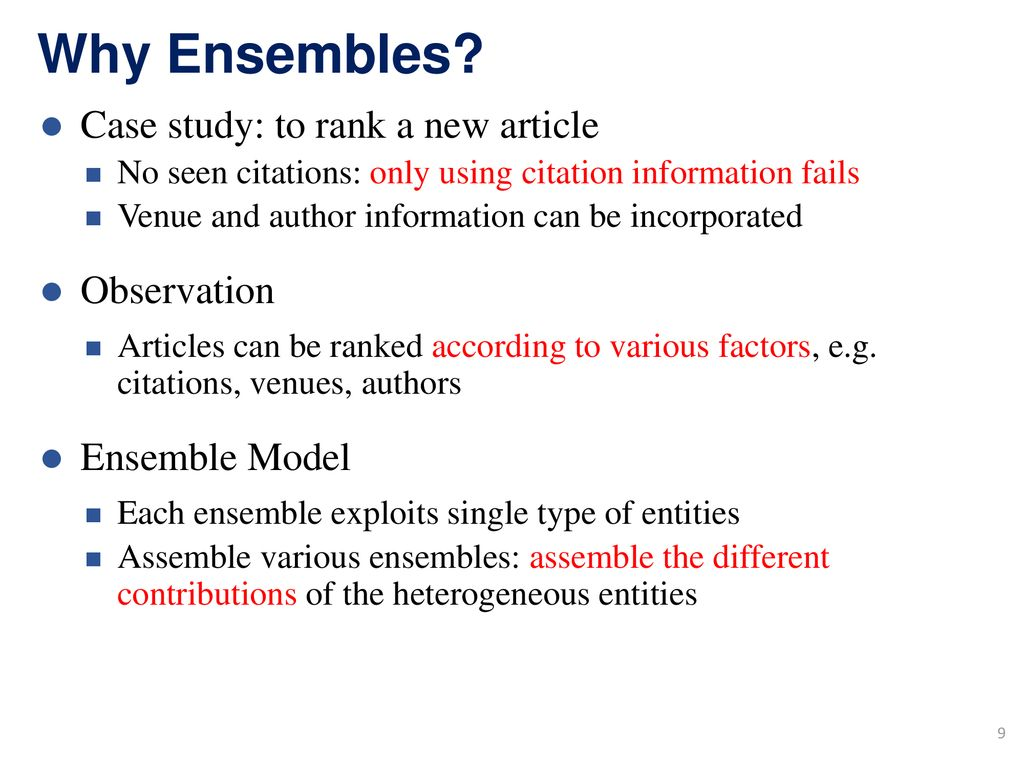 Ensemble Enabled Weighted Pagerank Ppt Download