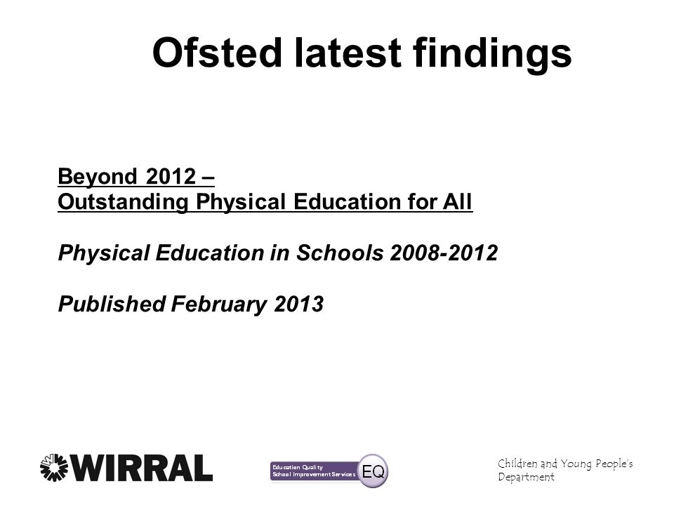 Ofsted latest findings