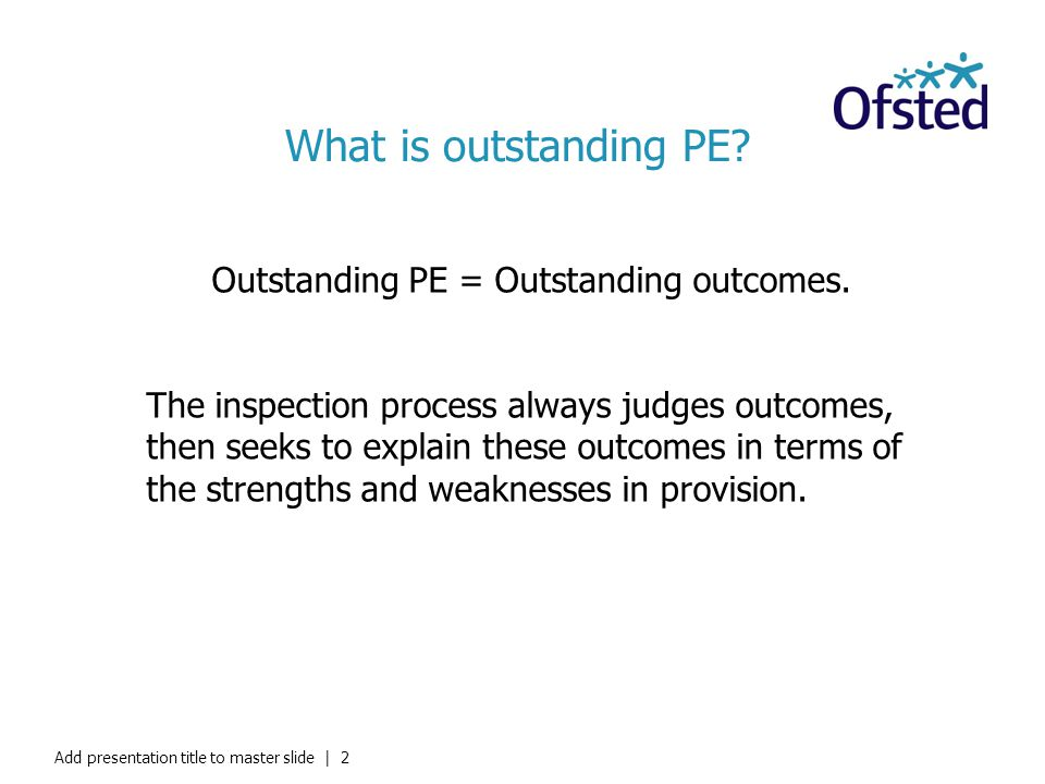 What is outstanding PE