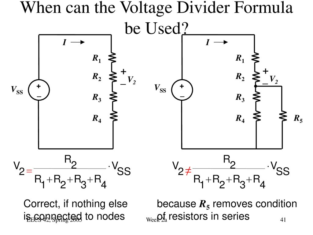 Note Current Has Polarity Ppt Download Voltage Divider Formula When Can The Be Used