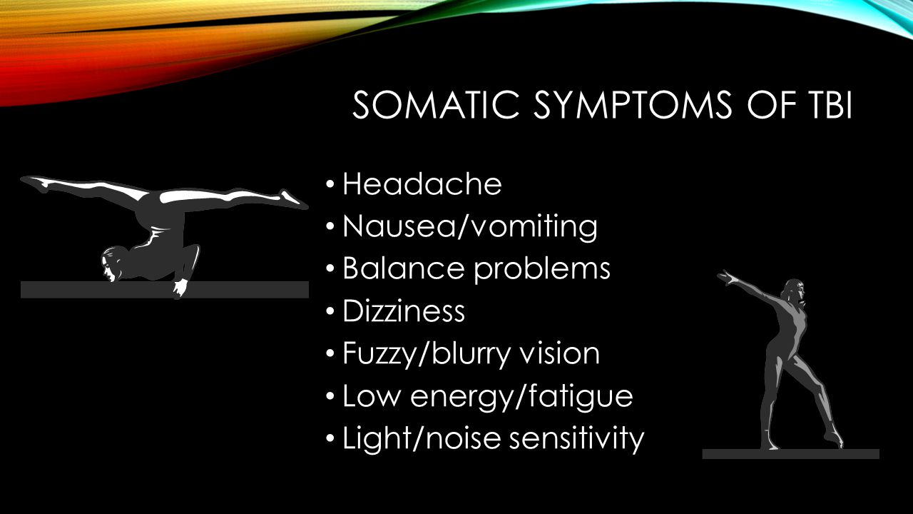 Somatic symptoms OF TBI