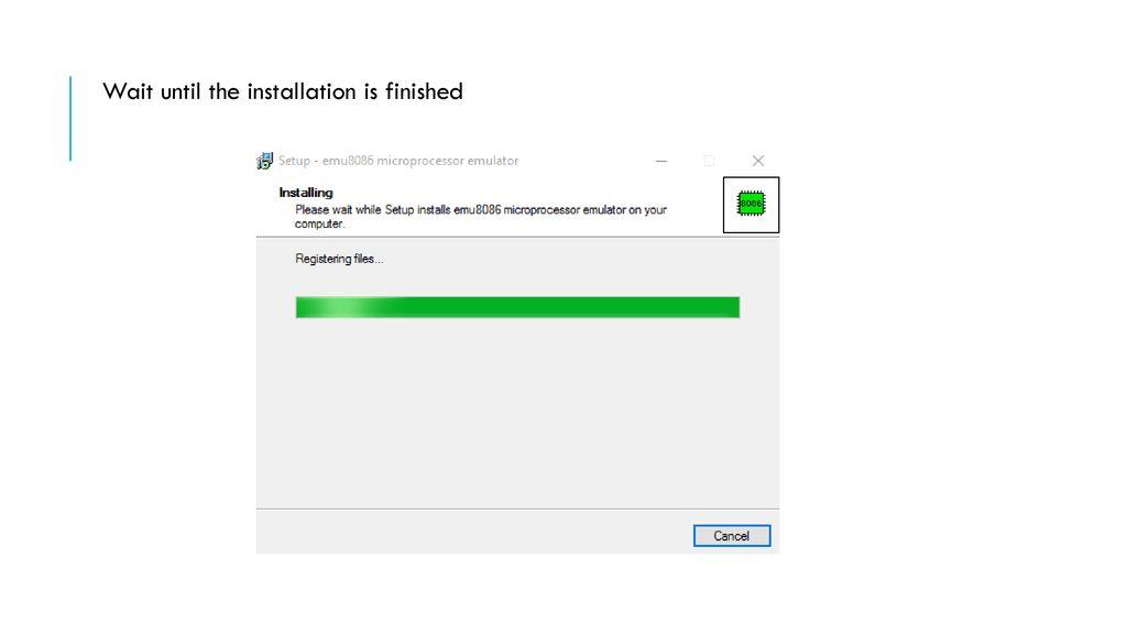 Install Emu8086 TA Amjad Alsuhaim  - ppt download
