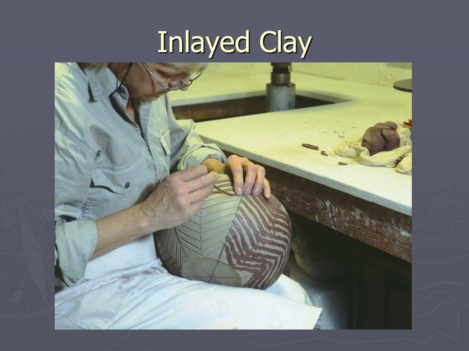Inlayed Clay