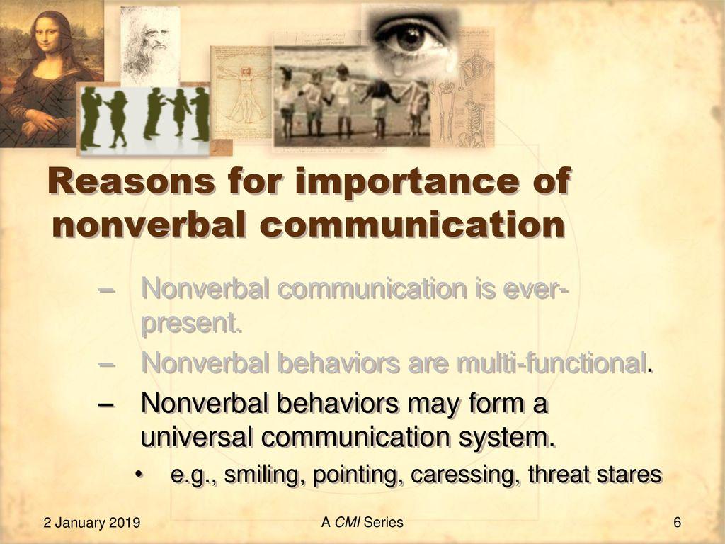 universal nonverbal communication