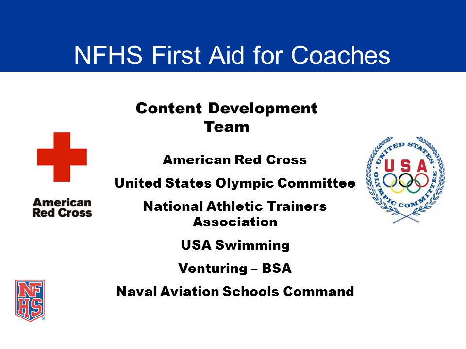 NFHS First Aid for Coaches