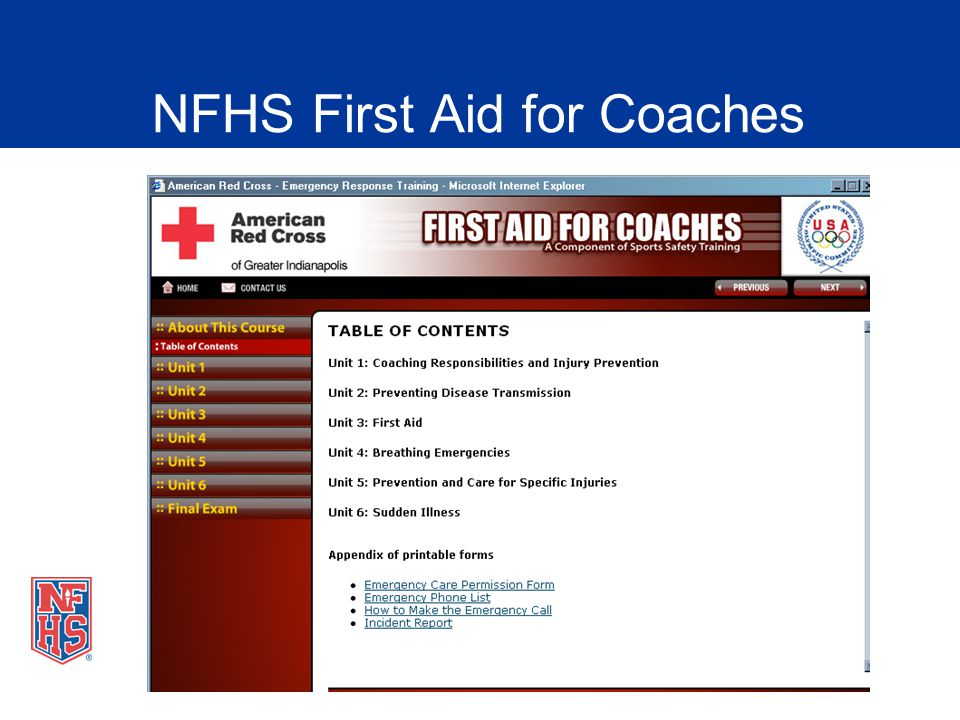 Nfhs fundamentals of coaching presentation ppt video online download 49 nfhs fandeluxe Choice Image