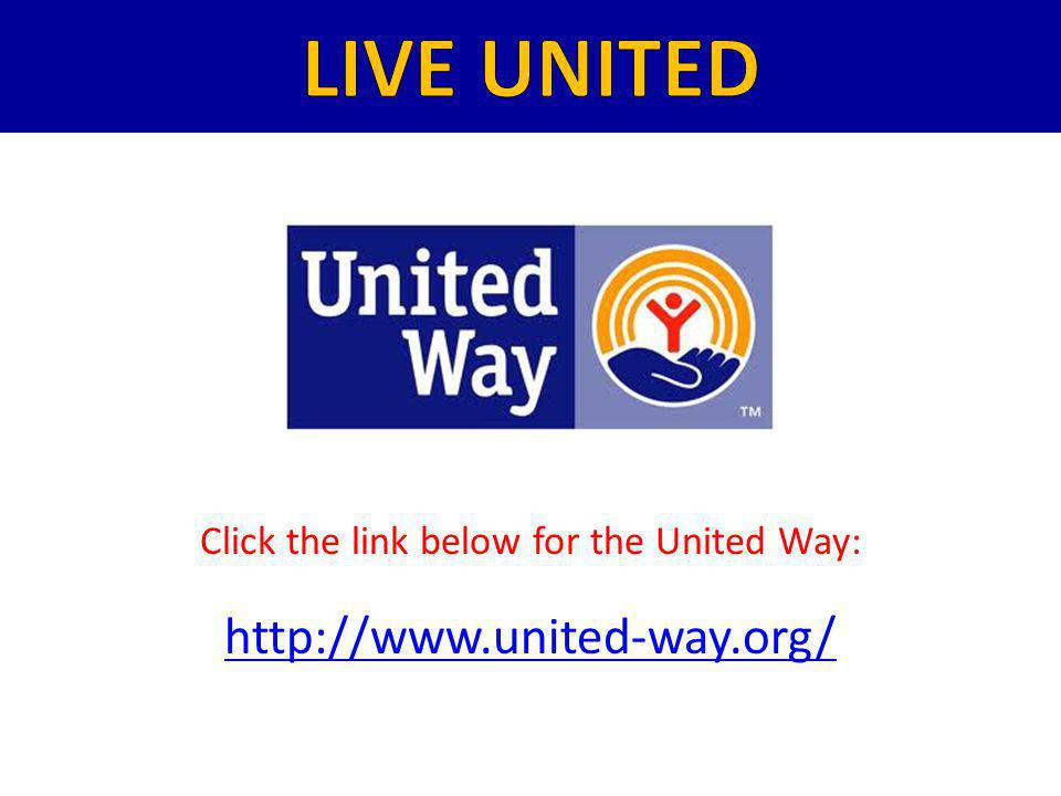 Click the link below for the United Way: