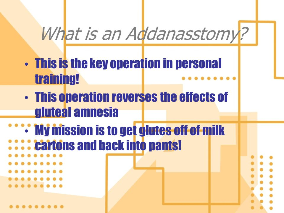 What is an Addanasstomy