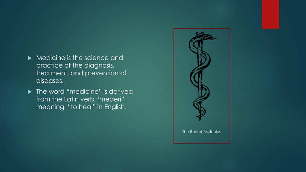 An introduction To the history of modern medicine - ppt download