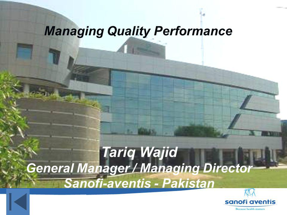 Managing Quality Performance