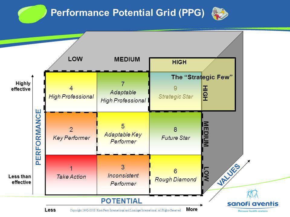 Performance Potential Grid (PPG)