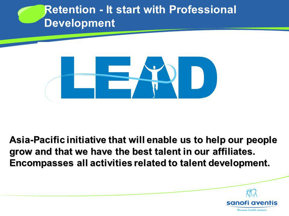 Retention - It start with Professional Development