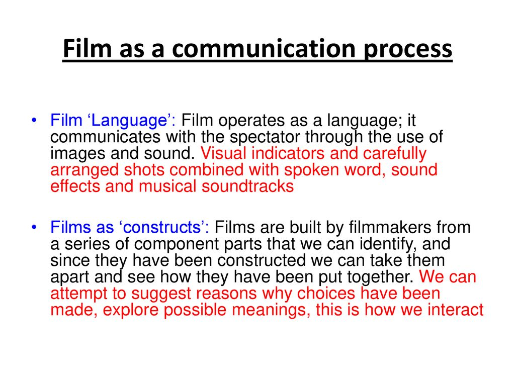 FM4: Varieties Of Film Experience – Issues and Debates - ppt download