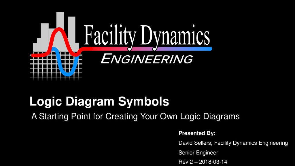 Logic Diagram Symbols A Starting Point for Creating Your Own Logic Diagrams. David Sellers, Facility Dynamics Engineering.