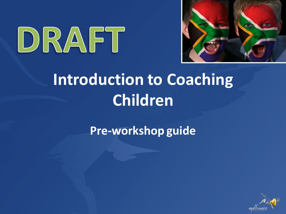 Introduction to Coaching Children