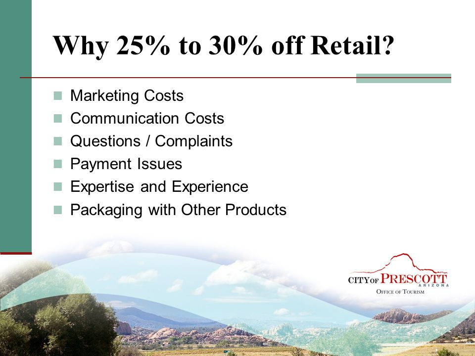 Why 25% to 30% off Retail Marketing Costs Communication Costs