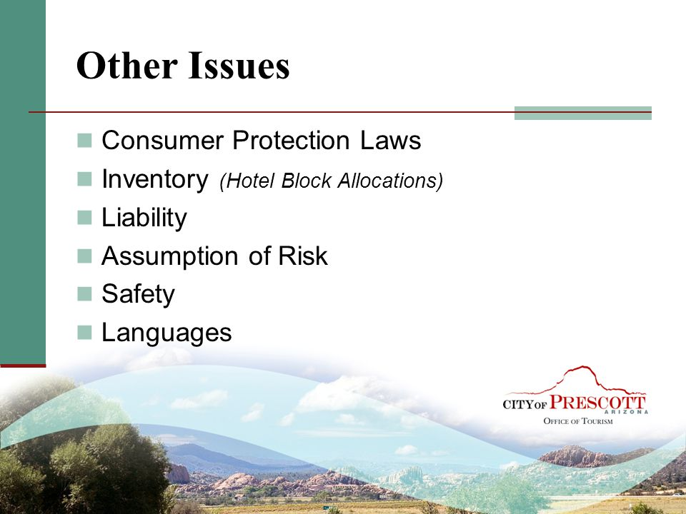Other Issues Consumer Protection Laws