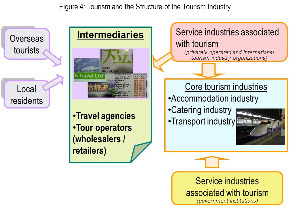 Tour operators (wholesalers / retailers)