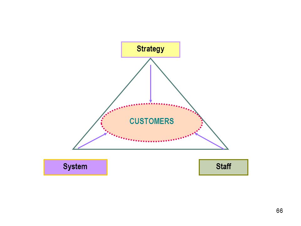 CUSTOMERS System Staff Strategy