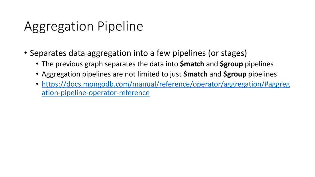 MongoDB Aggregations  - ppt download