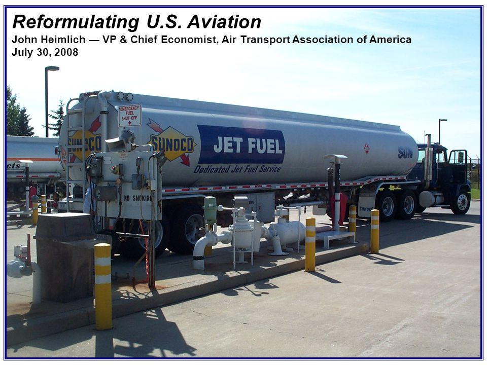 Reformulating U S  Aviation - ppt download