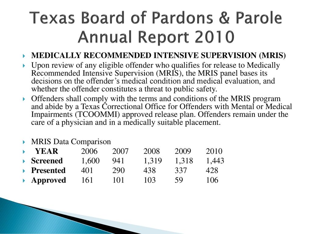 The History of Parole & Mandatory Release - ppt download