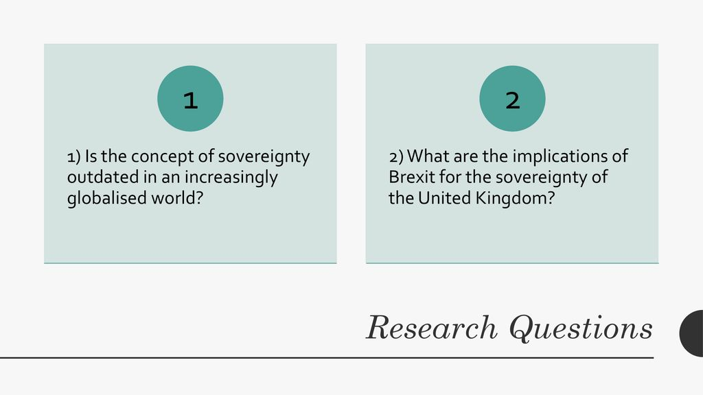 Is the concept of sovereignty out dated