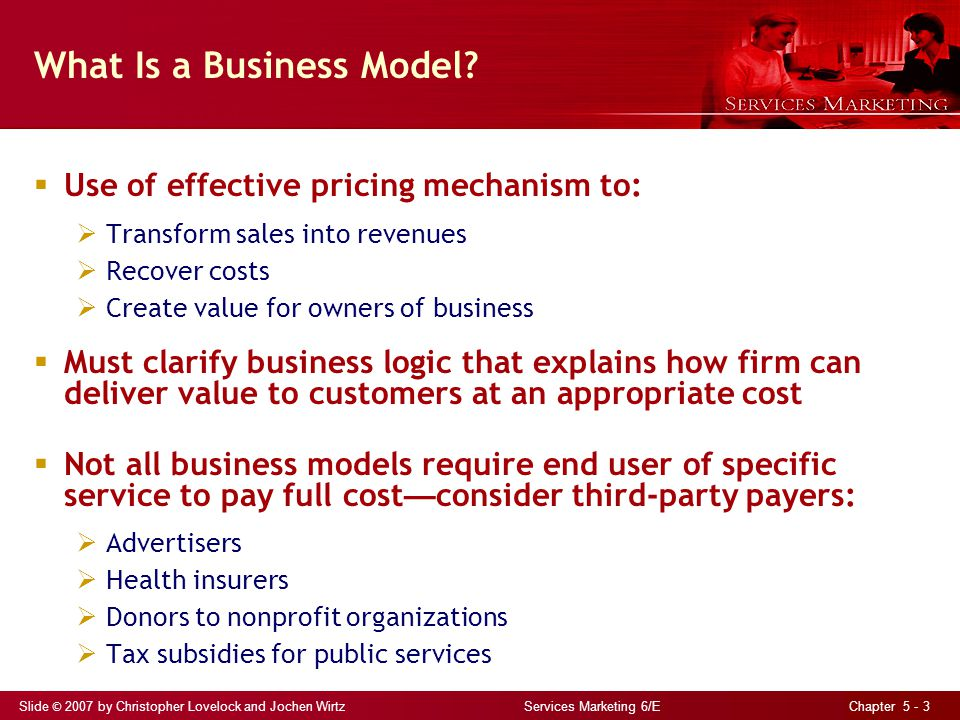 Exploring Business Models: Pricing and Revenue Management