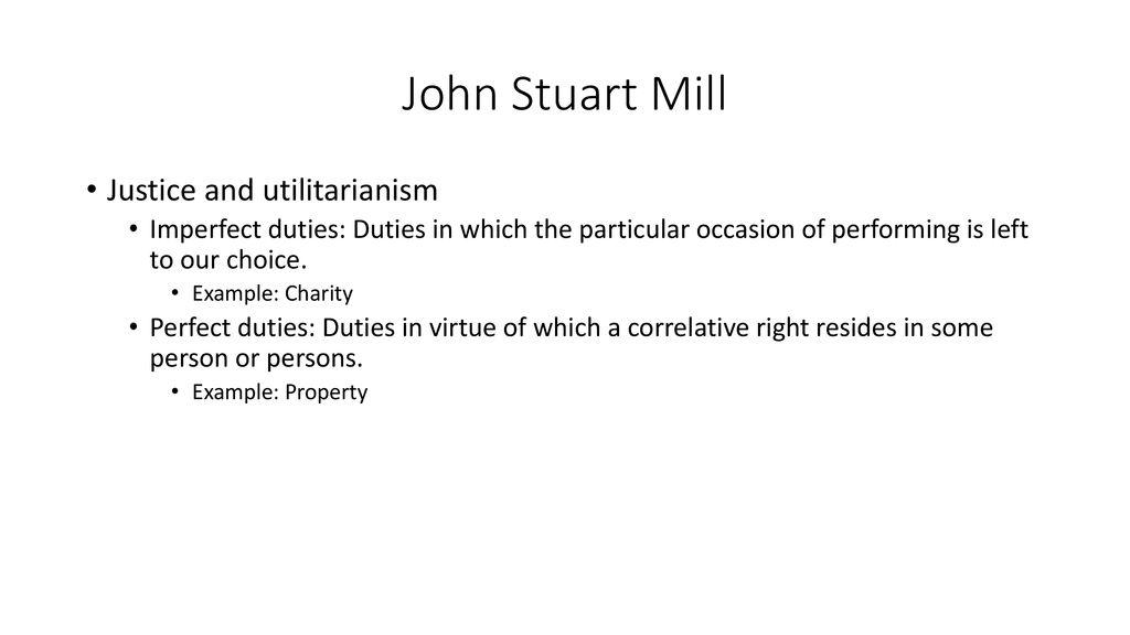 john stuart mill justice