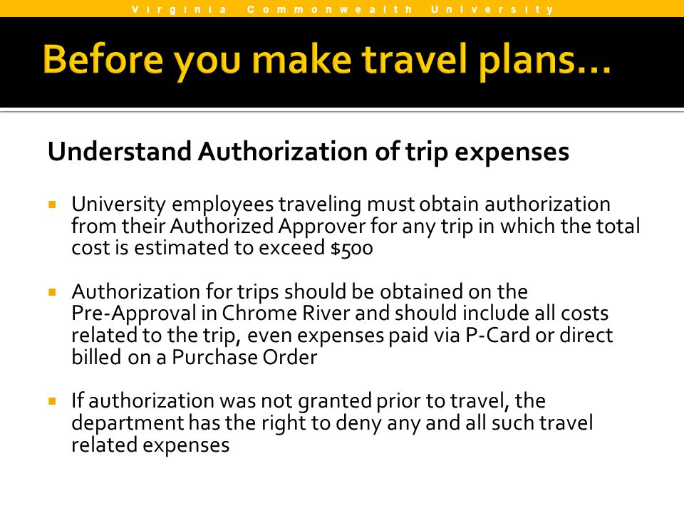 Before you make travel plans…