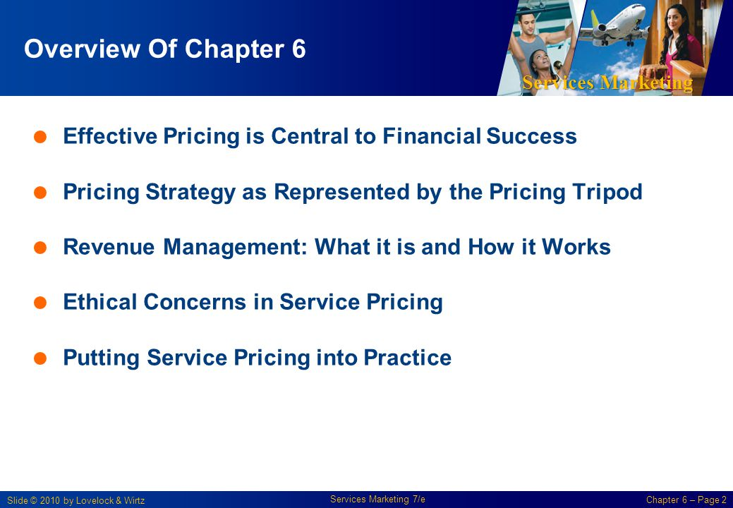 Overview Of Chapter 6 Effective Pricing is Central to Financial Success. Pricing Strategy as Represented by the Pricing Tripod.