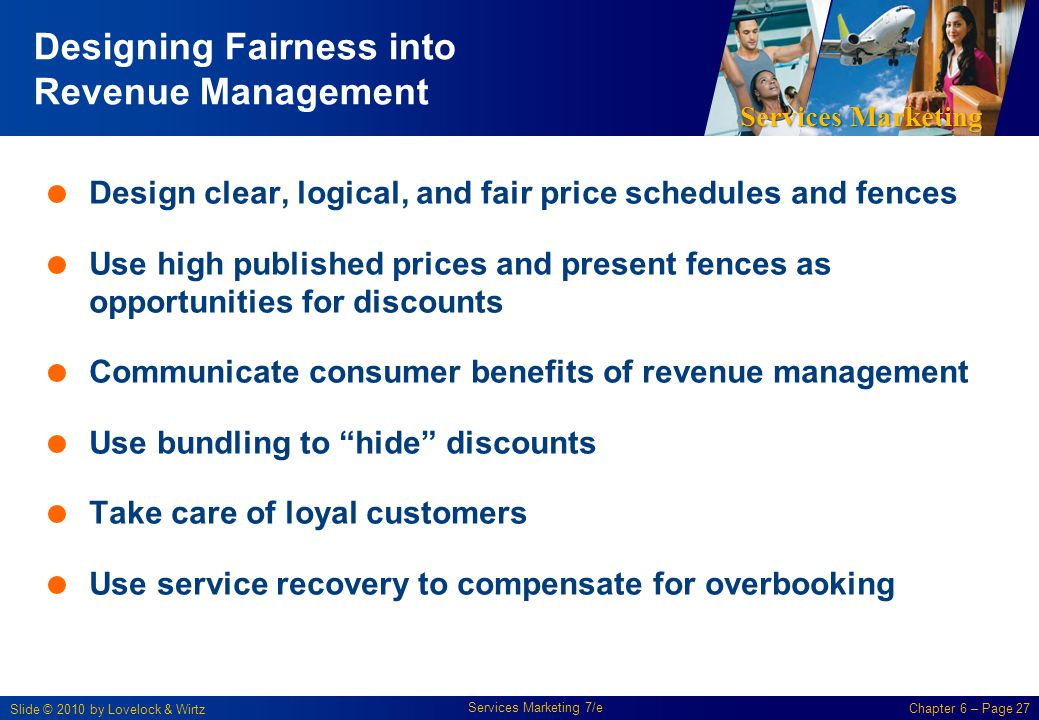 Designing Fairness into Revenue Management