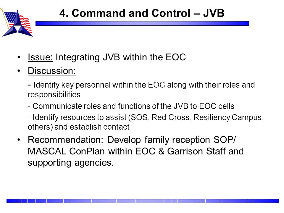 4. Command and Control – JVB