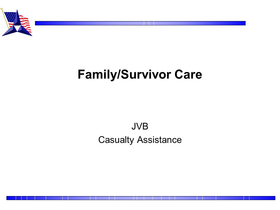 JVB Casualty Assistance