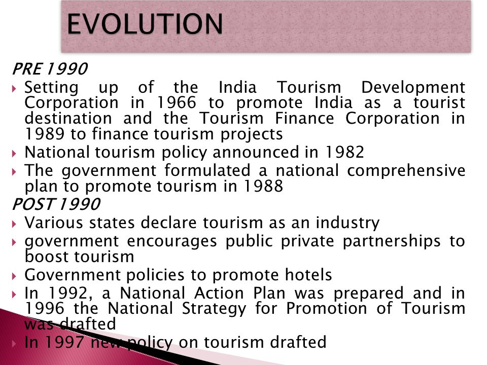 national tourism policy of india