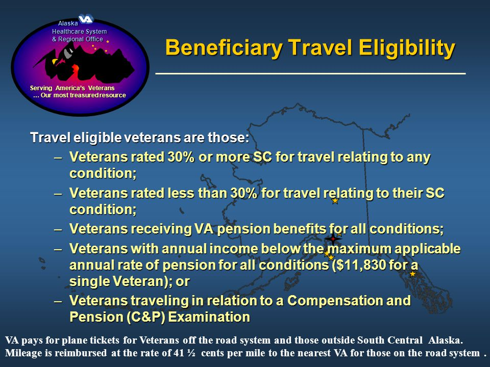 Beneficiary Travel Eligibility