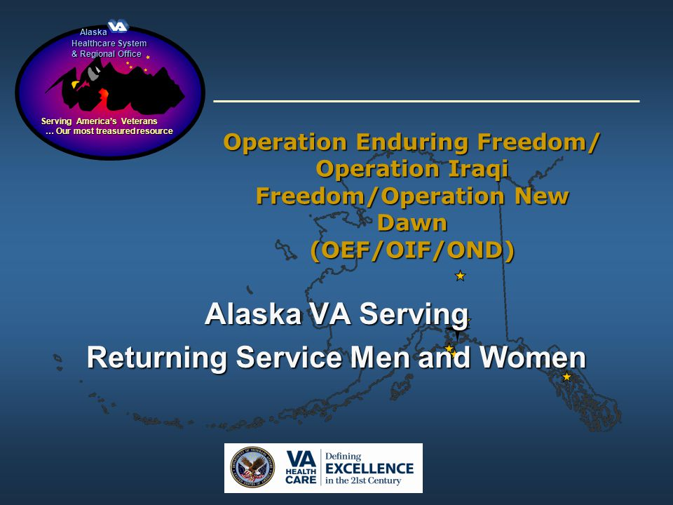 Alaska VA Serving Returning Service Men and Women