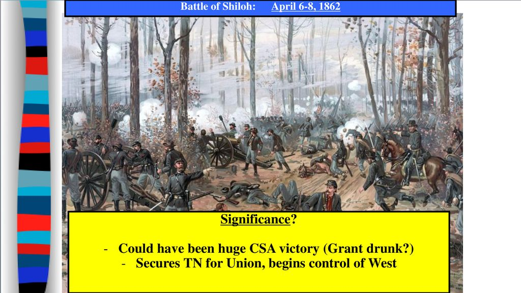 battle of shiloh significance