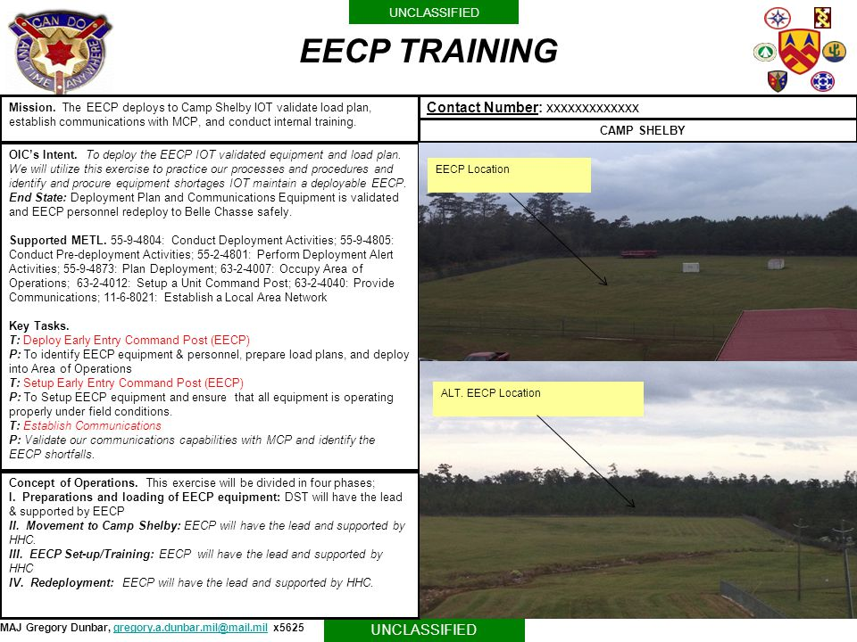 EECP TRAINING Contact Number: xxxxxxxxxxxxx
